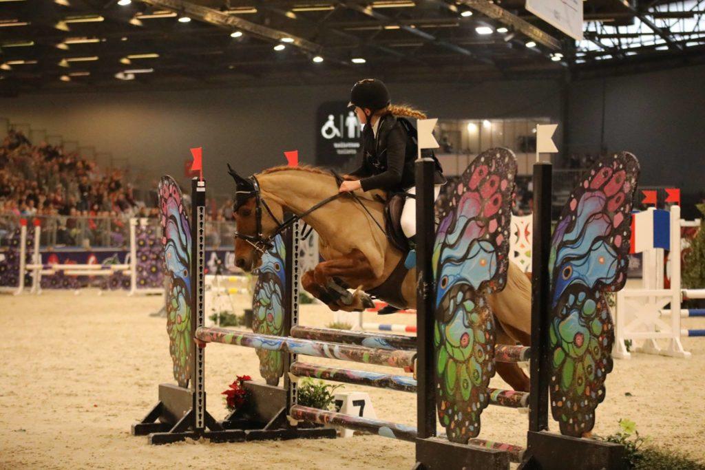 Demi pension poney concours